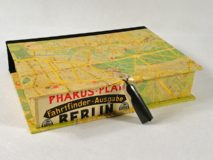 Rectangular Box with Berlin Map Paper