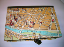 Florence Map Rectangular Box