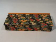 Four Compartment Box with Flowered Paper