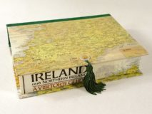 Rectangular Box with Map of Ireland Paper