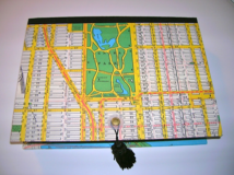 New York City Map Rectangular Box