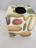 Tissue Box Cover with Le Jardin Paper