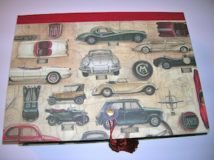 Classic Cars Rectangular Box