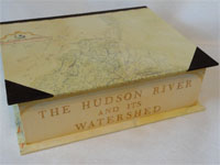Large Rectangular Box with the Hudson River & Its Watershed paper