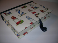 Rectangular Box with Lighthouse Paper