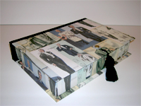 Rectangular Box with Men's Fashion paper