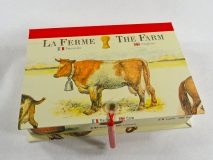 Rectangular Box with La Ferme paper