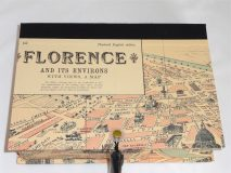 Rectangular Box with Map of Florence paper